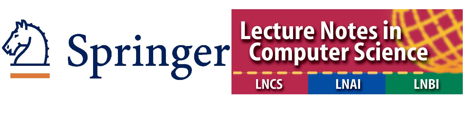 Springer's LNCS/LNBI